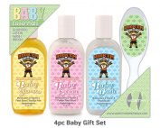 University Of Texas 4pc Baby Gift Set
