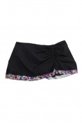 Profile By Gottex Plus Size Black Ruffle-Hem Swim Skirt 24W