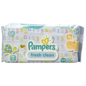 Pampers Baby Wipes Scented 64s