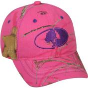 Women's Mossy Oak Camo Cap, Mossy Oak Lifestyles Pink Camo, Adjustable Closure
