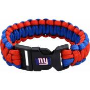 NFL Men's Giants Nylon Survivor Bracelet