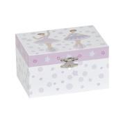 Jeannie Girls Musical Ballerina Jewellery Box - 5.88L x 4.13W in.