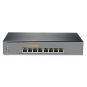 HP OfficeConnect 1920S 8G PPoE+, Web Managed Ethernet Switch, 8 Port RJ-45 GbE (4 of 8 PoE+, 65W