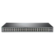 HP OfficeConnect 1920S 48G 4SFP, Web Managed Ethernet Switch, 48 Port RJ-45 GbE, 4 Port SFP,