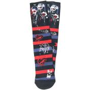 Suicide Squad Joker and Harley Quinn Crew Socks