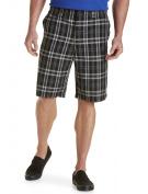 Big & Tall True Nation Plaid Shorts