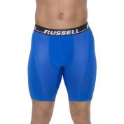Russell Big Men's Sport Performance Long Leg Boxer Brief, 2XL