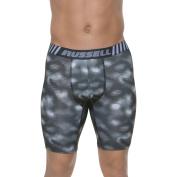Russell Big Men's Voltage Performance Long Leg Boxer Brief, 2XL