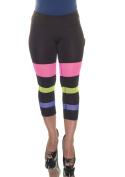 Material Girl Noir Multi Leggings Size XS NWT - Movaz