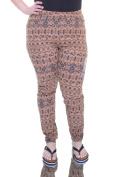 Ultra Flirt Brown/Black Leggings Size XL NWT - Movaz