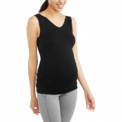 Labour of Love Maternity Ruched Reversible Scoop to V-Neck Seamless Tank - Available in Plus Sizes