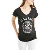 """Maternity """"Up All Night"""" Graphic Tee"""