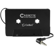Cellet Cassette Audio Adapter for iPhones iPods Android Phones MP3 Players