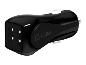 Cellet Universal High Output 12 Watt/2.4-Amp Dual USB Car Charger for Apple and Android Devices