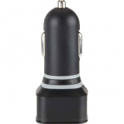 Vivitar 2.1 Amp Dual Usb Car Charger-black