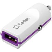 Cellet Low Profile 5-Watt (1-Amp) USB Car Charger, Purple