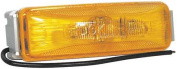 TRUCK LITE CO INC 19002Y Clearance/Marker, Rectangle, Yellow