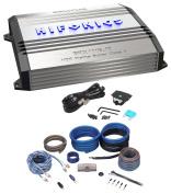 New Hifonics Brutus BRX1116.1D 1100 Watt RMS Class D Mono Car Amplifier+Amp Kit