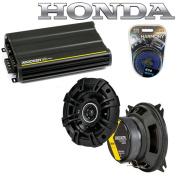 Fits Honda Civic 1980-1983 Speaker Replacement Kicker DSC4 & CX300.4 Amplifier - Factory Certified Refurbished