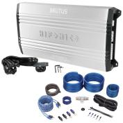 New! Hifonics BRX5016.5 1200 Watt RMS 5-Channel Car Audio Amplifier+Amp wire Kit