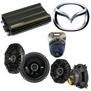 Fits Mazda 190 Series 84-93 Speaker Replacement Kicker DSC4 DSC65 & CX300.4 Amp - Factory Certified Refurbished