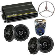 Fits Mercedes CLK-Class 04-04 Speaker Replacement Kicker (2) DSC65 & CX300.4 Amp - Factory Certified Refurbished