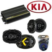 Fits Kia Sedona 2002-2012 Speaker Replacement Kicker DSC65 DSC693 & CX300.4 Amp - Factory Certified Refurbished