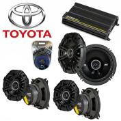 Fit Toyota Land Cruiser 1997-2012 Speaker Upgrade Kicker DS Series & CX300.4 Amp - Factory Certified Refurbished