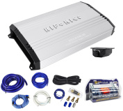 New Hifonics Brutus BRX2416.1D 2400W RMS Mono Car Amplifier+Amp Kit+Capacitor