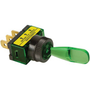 Battery Doctor 20501 On/Off Illuminated 20-Amp Toggle Switch, Green