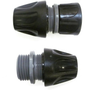 Aqua Joe Male-to-Female Fittings for Expandable Hose