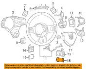 Dodge CHRYSLER OEM Charger Steering Wheel-Shift Paddle Bezel Right 1YT66DX9AA