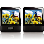 Philips 18cm Dual Screen Portable DVD Player REFURBISHED