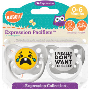 Ulubulu Really Dont Want Sleep, 0-6 Month, 2-Pack