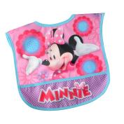 Disney Minnie Mouse Single Water-Resistant Toddler Bib