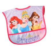 Disney Princess Single Water-Resistant Toddler Bib