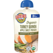 Earth's Best Organic Turkey Quinoa Apple Sweet Potato Homestyle Meal, 9+ Months, 100ml