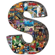 Marvel Retro Comics Wood Letter 'S'