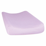 Orchid Bloom Dot Changing Pad Cover