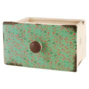 Blossom Bucket Floral Ceramic Drawer Decorative Box
