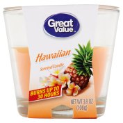 Great Value Hawaiian Scented Candle, 110ml