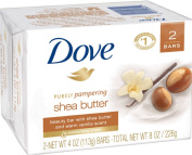 Dove Purely Pampering Shea Butter Beauty Bar, 120ml, 2 Bar