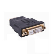 C & E DVI-D Female to HDMI Male Adapter, Gold Plated