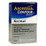 Ascensia Microfil Normal Control Blood Glucose Metre System, Model No