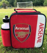 Arsenal FC Vertical Lunch Bag/Box and 600ml Bottle Set