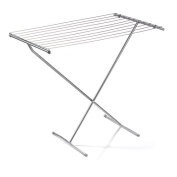 Deluxe Folding Clothes Drying Horse Rack Airer Dryer Washing Dry Laundry Stand Wilsons Direct