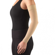 Truform Lymphedema Compression Arm Sleeve, Dot Top