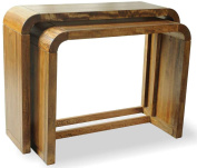 Mason and Bailey Tropic Set of 2 Console Tables