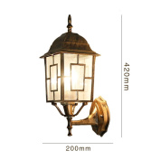 Good thing wall lights Bohemian Wall Lamp Outdoor Lantern Creative Villa Lamp Pastoral Outdoor Door Courtyard Waterproof Wall Lamp