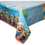 Plastic Despicable Me Minions Table Cover, 210cm x 140cm